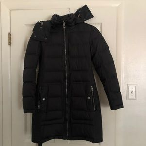Burberry Puffer Coat long Brit quilted down